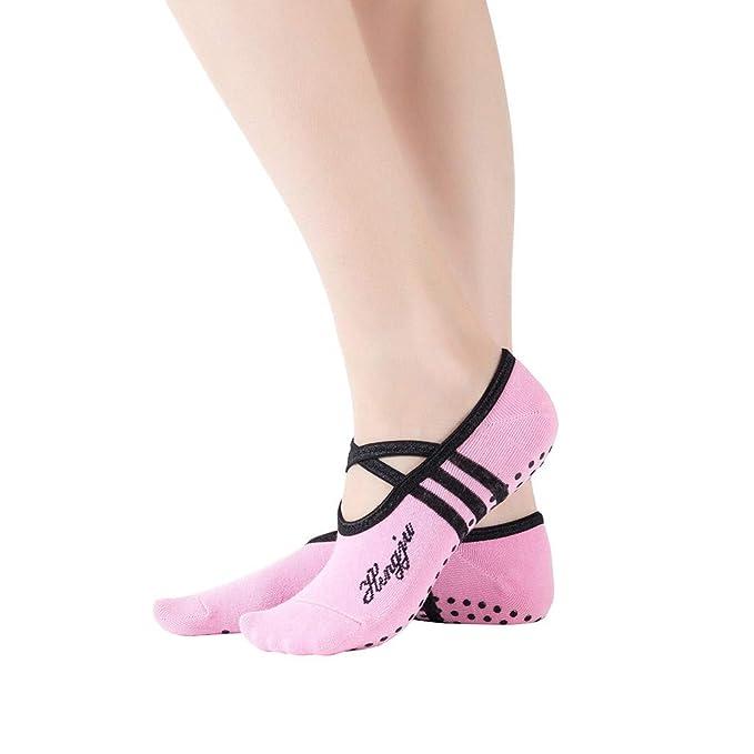 Sloater Calcetines de yoga, abiertos para mujer ...