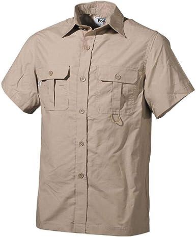 Outdoor Camisa, manga corta, Microfibra : Amazon.es: Ropa