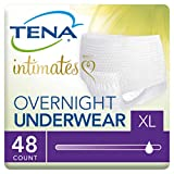 Tena Incontinence Underwear for Women, for Overnight, XLarge, 48 Count
