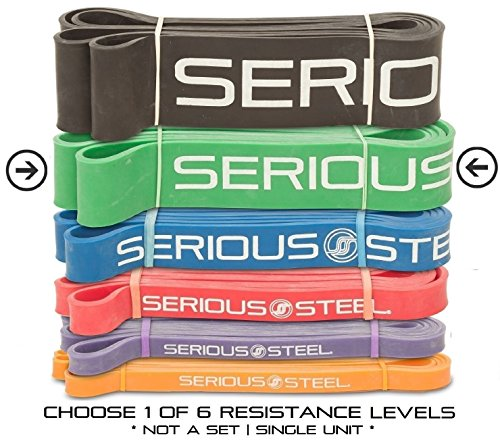 Serious Steel Fitness Green - #4 Average Pull-Up Assist & St
