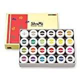 Opaque Watercolor Paint Shinhan Shami Poster Color 20ml 24 Color for Student
