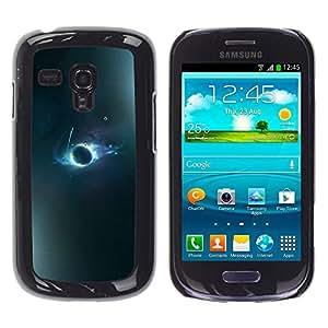 Stuss Case / Funda Carcasa protectora - Lightening Streaks Of Moonlight - Samsung Galaxy S3 MINI 8190