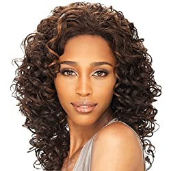 FreeTress Equal Chilli Color 1B Synthetic Lace Front Wig