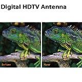 2020 Indoor Outdoor Amplified TV Antenna,HD Digital
