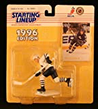 MATS SUNDIN / TORONTO MAPLE LEAFS 1996 NHL Starting Lineup Action Figure & Exclusive Collector Skybox Trading Card