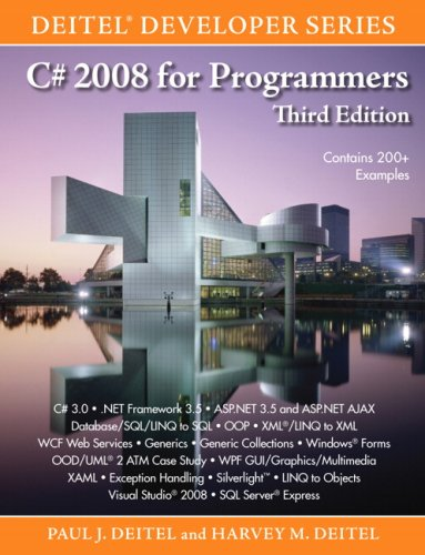 C# 2008 for Programmers (3rd Edition)