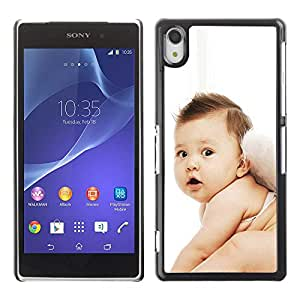 Exotic-Star ( Cute Fairy Baby ) Fundas Cover Cubre Hard Case Cover para SONY Xperia Z2 / D6502 / L50W