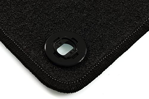 2008-2013 Basic CARMAT TEXER Textil Fu/ßmatten Passend f/ür Honda Jazz III Bj