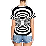 Auremore Unisex 3D Print T-Shirt Graphic Tee