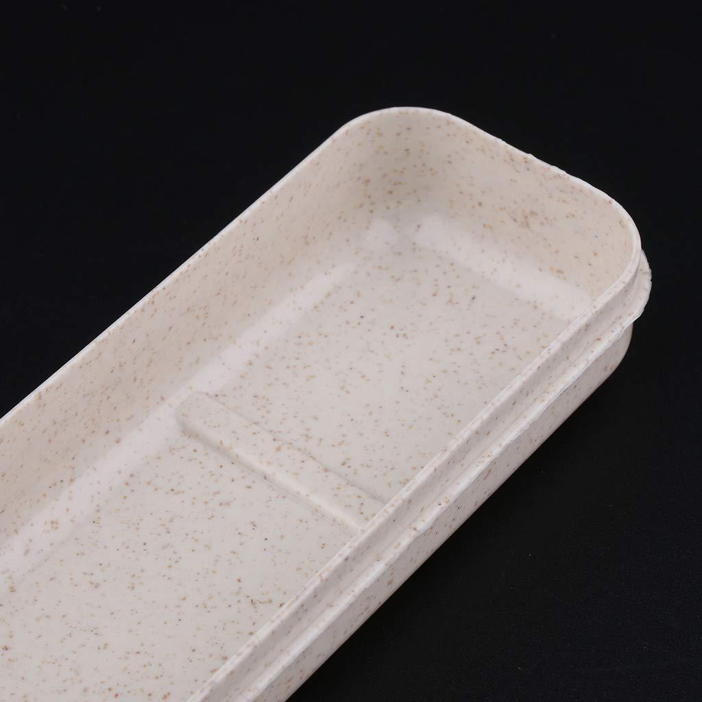 Caja P Prettyia Estuche Port/átil Producto de Almacenamiento de Vajilla para Viajes Mochileros Escalada Deporte