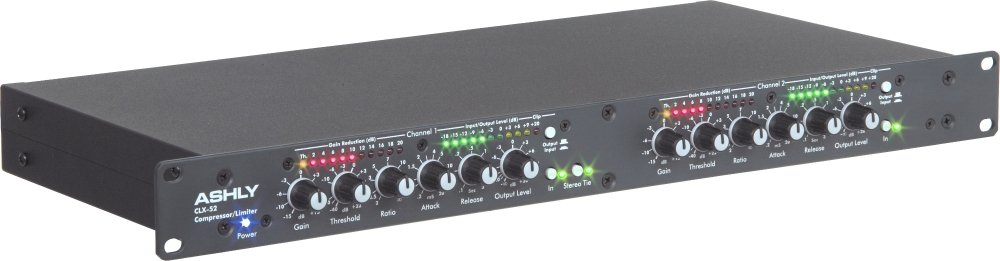 Ashly Audio CLX-52 2-Channel Peak Compressor/Limiter