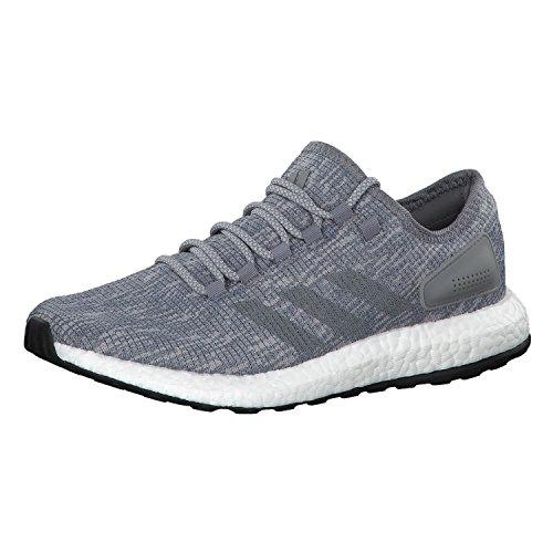 Adidas Hombre Pureboost, Gris / Blanco Gris / Blanco
