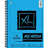 Canson XL Series Mix Media Paper Pad, Heavyweight, Fine...
