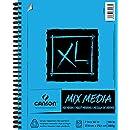 """XL Mix Media Pad, 7""""X10"""" Side Wire"""