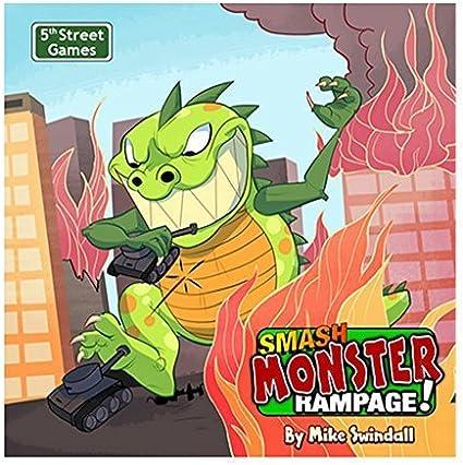 5th Street Games Smash Monster Rampage by: Amazon.es: Juguetes y juegos