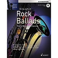 Rock Ballads Alt-Saxophon. Ausgabe mit Online-Audiodatei: The 14