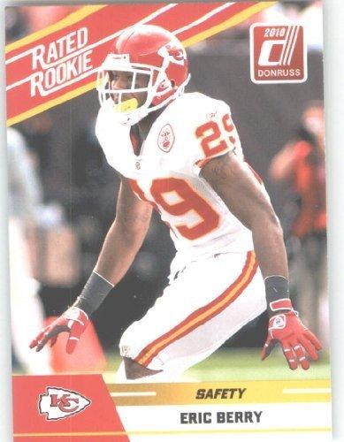 2010 Donruss Rated Rookies Football Card #37 Eric Berry - Kansas City Chiefs (RC - Rookie Card) NFL Trading Card (Football Kansas City Chiefs Card)