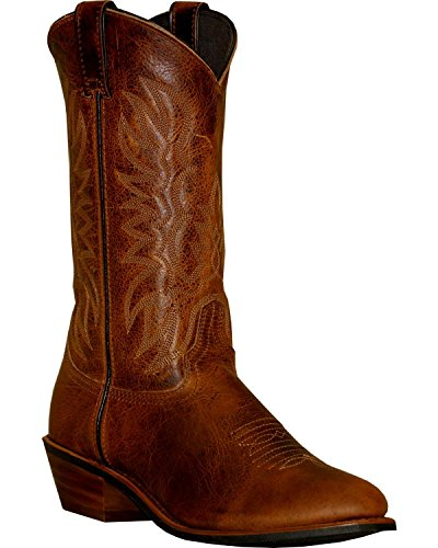 Abilene Sage - Abilene Men's Sage Dark Cowboy Boot Round Toe Brown 9.5 D(M) US