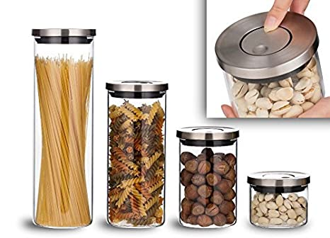 kitchen glass storage containers