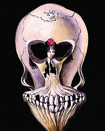 Culturenik Salvador DALI-Tete Mort (Surrealist Painting Art) (8 x 10 Framed Print)