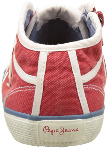 Hot red Rouge Sneakers Basic Femme Jeans Basses Industry Pepe 17 ZaxUqfaz