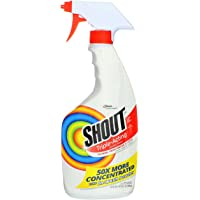 Shout Laundry Stain Remover Trigger Spray, 22 Fl Oz, pack of 2