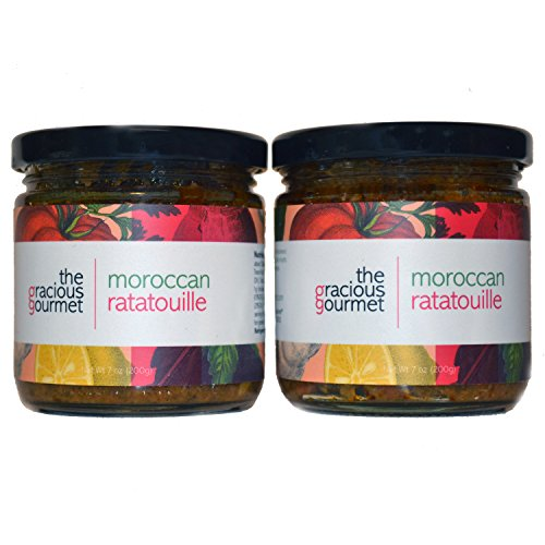 The Gracious Gourmet Moroccan Ratatouille, 14 Ounce made in New England
