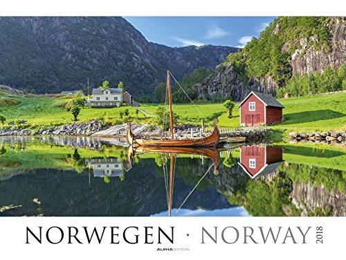 Norwegen 2018 - Norway - Bildkalender XXL (64 x 48) - Landschaftskalender - Naturkalender