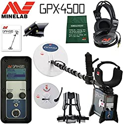 Minelab GPX 4500 Metal Detector for Relic and Gold Prospecting with 2 search Coils