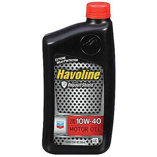 From us havoline 223396474 10w 40 motor oil 5 qt for 5 quart motor oil