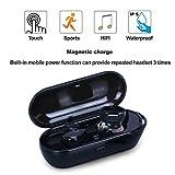 Best Fitness Earphones - Wireless Earbuds Touch-Sensitive Headphone Bluetooth Earphone Sports In-Ear Review