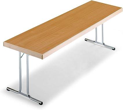T 700 en x piétement 1700 pliantes Tables mmpiétement kXuiOPwZT