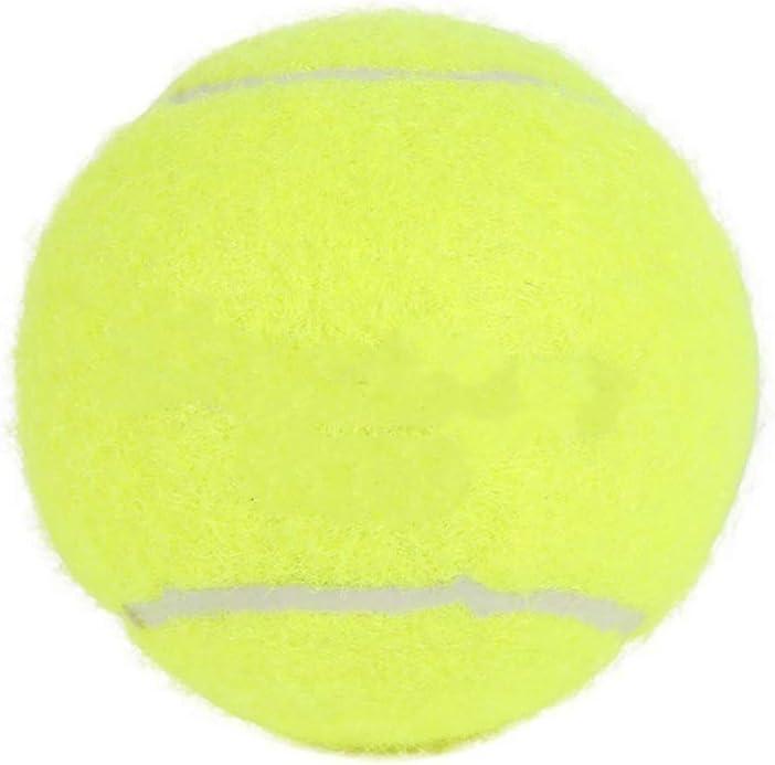 kaakaeu Single Training Tennis Ball Elastic Rubber Band Ball for Beginner Daily Training//Advanced Training with Belt Line Cord Tool