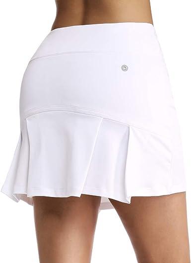 Geekbuzz - Falda de tenis para mujer con bolsillos y pantalones ...