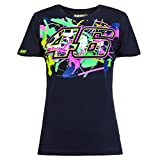 Valentino Rossi VR46 Painted 46 Moto GP Women's T-shirt Official 2016