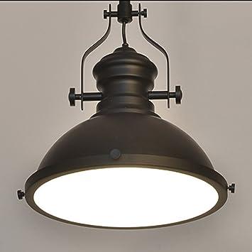 SEESUNG Loft Retro American Industrial Kronleuchter, Individuelle  Schlafzimmer Bar Tisch Esszimmer Single Head Anhänger,