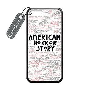 CASECOCO(TM) American Horror Story AHS Plastic TPU Case Cover Skin For iphone 5C