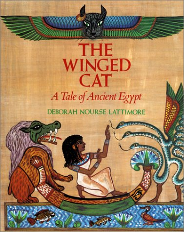 The Winged Cat: A Tale of Ancient - Cat Winged