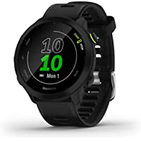 $199 » Garmin Forerunner 55, GPS Running Watch with Daily Suggested Workouts, Up to 2 Weeks of…