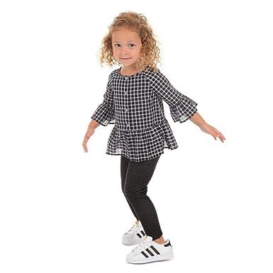 280e952e0bd666 Amazon.com: PIPPA & JULIE Sharon Black & White Check Legging Set: Clothing
