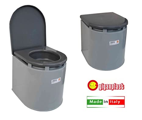 GIGANPLAST WC Chimico Camper, Grigio: Amazon.it: Sport e tempo libero