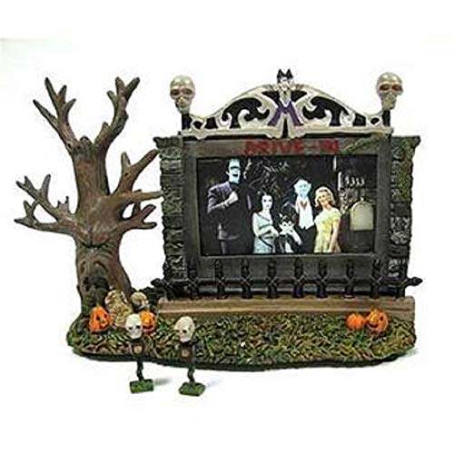 Hawthorne Village Universal Studios Munsters Collection Drive-in Theater Collectible Halloween House Display
