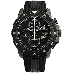 Swiss Army Alpnach Men's Black PVD Automatic Chronograph Limited Edition Watch 241574