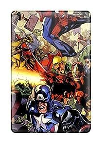 Cute Tpu PamarelaObwerker Heroes Marvel Cartoons Cases Covers For Ipad Mini