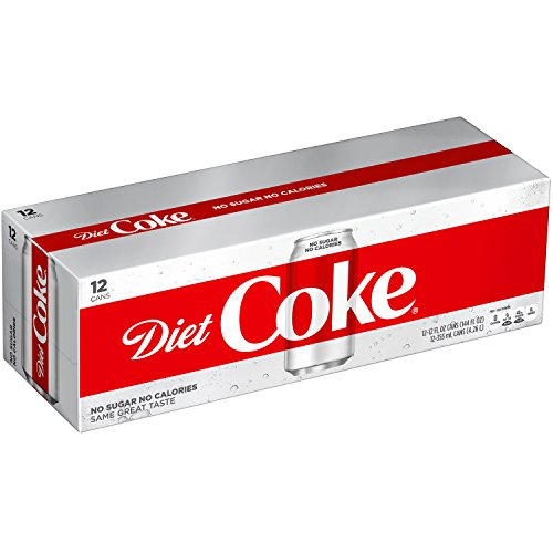 Diet Coke Soda Soft Drink, 12 fl oz, 12 Pack