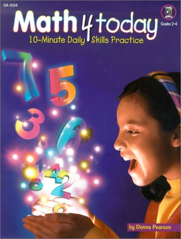 Download Math 4 Today, Grades 2-4 (Good Apple Math Activity Book) pdf epub