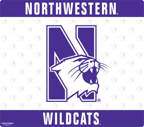 Wow!Pad 78WC056 Northwestern Collegiate Logo Desktop Mouse