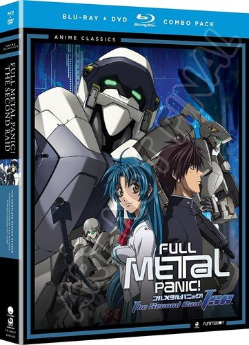 Blu-ray : Full Metal Panic!: The Second Raid (With DVD, Boxed Set, 5 Disc)