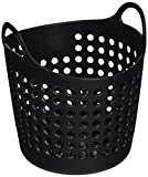StealStreet SS-KD-1616-BLACK Mini Laundry Basket Office Supply Organizer, 4.25'', Black