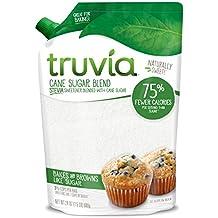 Truvia Cane Sugar Blend, Mix of Natural Stevia Sweetener and Cane Sugar, 24 oz Bag